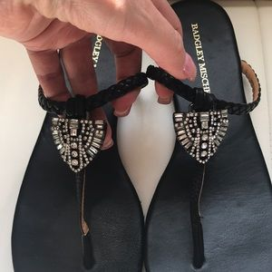 EUC Badgley Mischka Jewel Sandals